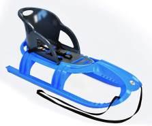 Schlitten Snow Tiger Comfort iceblue - Rodel, Schneefahrzeug