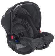 Graco SnugRide Babyschale Gruppe 0+, Geburt bis 13 kg, nutzbar auch mit Base, inkl. Seitenaufprallschutz, Verdeck, Einlage, Midnight Black