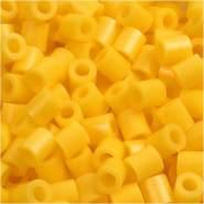 Nabbi Schmelzperlen aus Kunststoff, Plastik, gelb, 1100-Piece