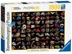 Ravensburger Puzzle 15983 - 99 atemberaubende Tiere - 1000 Teile