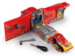 Smoby 360182 Cars XRS Mack Truck, Werkzeug, LKW, für Kinder ab 3 Jahren, Rot