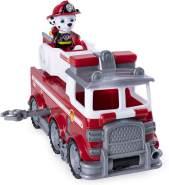 PAW Patrol 6046151 - Ultimate Rescue Basis Fahrzeug mit Figur - Marshall