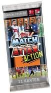 Topps BLA20-SDT1 Match Attax Action, Sammelkarten Erweiterung, Saison 2019/2020, Sammeldose mit 63 2 limitierten Karten, bunt