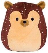 Squishmallow Innovation First Hans der Igel – super-weiches Plüschtier, 19cm