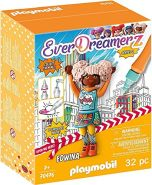 PLAYMOBIL- EverDreamerz 70476 Edwina - Comic World, Mit PLAYMOBIL-Wasserstift, Ab 7 Jahren