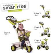 Kinderdreirad Smart Trike Dream Touch Steering - grün/schwarz