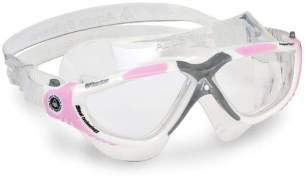 Aqua Sphere Vista Schwimmmaske, weiß pink/transparentes Glas, Einheitsgröße