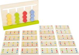 small foot 11103 Logik Labyrinth Educate aus Holz, FSC 100%-Zertifiziert Spielzeug, Mehrfarbig