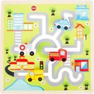 Schiebe-Puzzle City