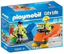 PLAYMOBIL 70203 City Life Kehrmaschine, ab 4 Jahren, bunt, one Size