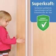 reer Finger-Klemm-Schutz für Türen, Kinder-Sicherung für Babys, vom schwäbischen Kinder-Sicherheits-Experten, 120cm