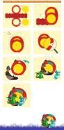 Ursus 18710012F - Laternen Bastelset Easy Line, Baby Drache, ca. 21, 8 x 21 x 10, 3 cm, Set zum Basteln einer Laterne, inklusive Schritt für Schritt Anleitung, ideal für den nächsten Laternenlauf