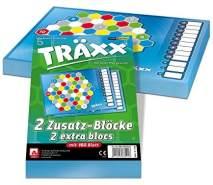 NSV - 4084 - TRÄXX - Ersatzblöcke 2er Set - Kartenspiel