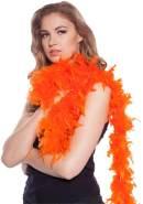 Federboa Boa orange 180cm