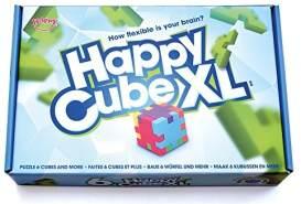 Happy Cube 22277 - XL Geschenkbox, 6 3D-Puzzlewürfel, mittlerer Schwierigkeitsgrad