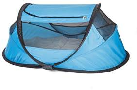 Deryan BB-BLUE Travel-Cot Reisebett Babybox, blau