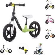 Chipolino, Laufrad Sprint 12 Zoll, Sitz und Lenker höhenverstellbar, Gummigriffe grün