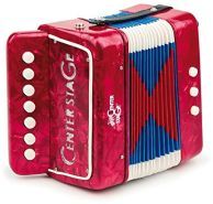 Egmont Toys Kinder Akkordeon, Kinder-Musikinstrument Maße: 18 x 17 x 10 cm