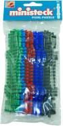 Ministeck 31663 - Farbstreifen-Set, 9 Farbstreifen (31601 - 31606)