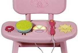 Zapf Creation 701911 Baby Annabell Lunch Time Tisch Puppenzubehör mit Funktion, bunt