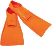 FLIPPER Swimsafe Schwimmflossen Kinder Baby Flossen (Paar) Farbe Orange 24-26