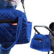 BabyLux Wickeltasche Kinderwagentasche Pflegetasche CandyPIK BLAU