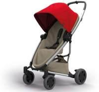 Quinny Zapp Flex Plus Vier Räder Buggy, stylischer Kinderwagen mit viel Komfort und Flexibilität, leicht und extrem kompakt zusammenfaltbar, nutzbar ab der Geburt (z.B. mit Lux Babywanne), red on sand