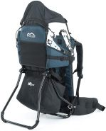 MONTIS MOVE, Rückentrage, Kindertrage, bis 25kg, ca. 2,2kg, Blau