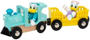 BRIO 32260 Donald & Daisy Duck Zug, Yellow