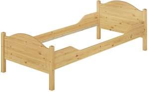 Erst-Holz Einzelbett Kiefer 100x200 cm, natur