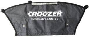Croozer Unisex– Erwachsene Heckteil-3092019140 Heckteil, Schwarz, One Size