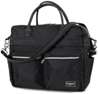 Emmaljunga Wickeltasche Travel Lounge Black Kollektion 2020