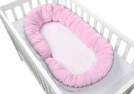 Motherhood 2in1 Babynest rosa