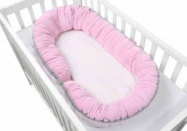 Motherhood 2in1 Babynest rosa
