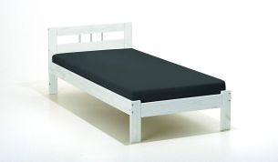 PKline Einzelbett Fank 90x200 Massivholz