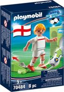 Playmobil Sports & Action 70484 'Nationalspieler England', 8 Teile, ab 5 Jahren