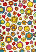 Move 4484 Multi Flowers 133 x 190 cm
