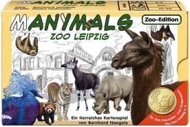 Adlung Spiele ADL51030 ADL51030-Manimals Zoo Leipzig