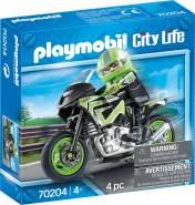 Playmobil City Life 70204 'Motorradtour', 4 Teile, ab 4 Jahren