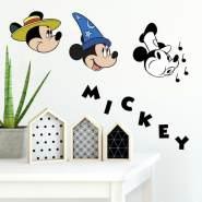 RoomMates Wandtattoo 'Disney Mickey Klassik'