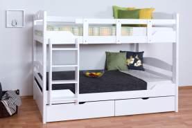 Etagenbett für Erwachsene Easy Premium Line K10/n inkl. 2 Schubladen und 2 Abdeckblenden
