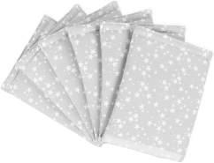 Babybay 'Ultrafresh Piqué' Bettnestchen für Babybay Original grau/weiß, Sterne