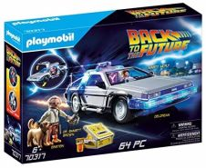 Playmobil Back to the Future 70317 'DeLorean' mit Lichteffekten, 64 Teile, ab 6 Jahren