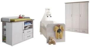 Bega 'Maila' 3-tlg. Babyzimmer-Set, weiß
