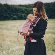 LIMAS Flex Babytrage Fullbuckle | 56 – 104 cm | Bauchtrage & Rückentrage & Onbuhimo | ab 2. -3. Monate bis 3+ Jahre | Baby Carrier | Blush