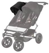Mountain Buggy Sunhood für Duet black rechts