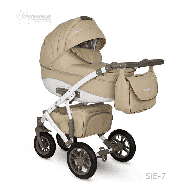 Camarelo Sirion ECO - 3in1 Kombikinderwagen - SiE-7 beige/ braun