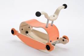 Wishbone Mini-Flip 3in1 Rutschfahrzeug Orange