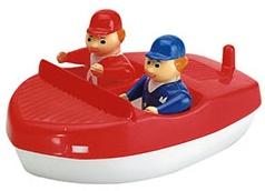 Sportboot mit Figuren / AquaPlay