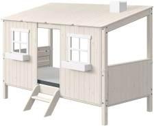 FLEXA Classic Haus mit Einzelbett Weiß 90-10767-90-01
